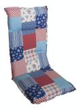 Perna dubla pentru scaun 115x50cm MULTIALTA MN0115229 albastru rosu Raki