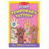 Set de Tatuaje Temporare Fetite, Melissa & Doug