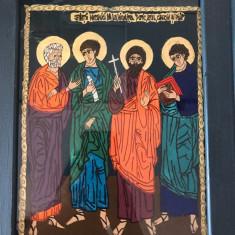 icoana pe sticla Sf.Mc. de la Niculitel