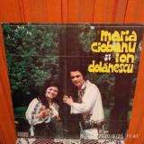 -Y- MARIA CIOBANU SI ION DOLANESCU - DISC VINIL