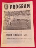 Program meci fotbal SPORTUL STUDENTESC BUCURESTI - JIUL PETROSANI(27.08.1989)