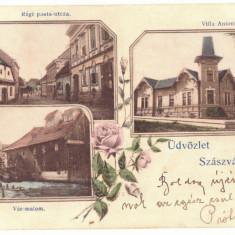 2940 - ORASTIE, Hunedoara, Litho, Romania - old postcard - used - 1901, Circulata, Printata
