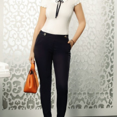 Pantalon bleumarin Fofy clasic