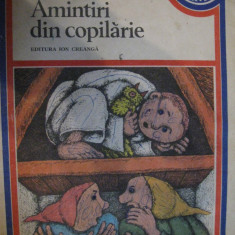 Amintiri din copilarie de Ion Creanga (editia 1979)
