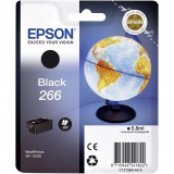 Cartus cerneala epson 266 black singlepackpentru workforce wf-100w.