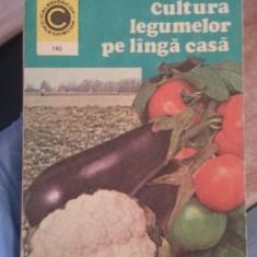Cultura legumelor pe langa casa