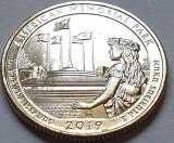 25 cents / quarter 2019 SUA, Northern Mariana Islands, Memorial Park, litera P/D, America de Nord