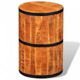 VidaXL Scaun de bar din lemn de mango nefinisat