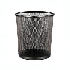 Cos hartie metalic mesh Forpus 30547 negru