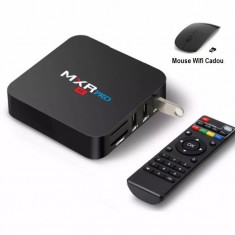 TV Box, Media player 4K, MXR PRO, Android 8.1, 4gb/32gb 4k, Bluetooth, Netflix