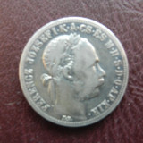 1 Forint 1884 Franz Joseph argint, Europa