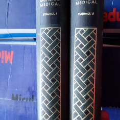 DICTIONAR MEDICAL -DR.P.SIMICI   VOL I-II  ANUL 1969