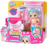 Bebelus Little Live Babies cu functii si accesorii - Swirlee, Moose