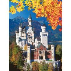 Puzzle Castelul Neuschwanstein Toamna, 1500 Piese