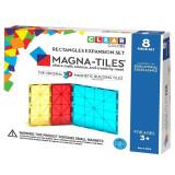 Magna-Tiles Extensie Dreptunghiuri - 8 piese