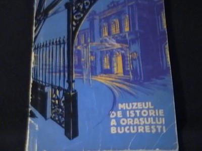 MUZEUL DE ISTORIE AL ORASULUI BUCURESTI-FLORIN GEORGESCU-PAUL  CERNOVODEANU= foto