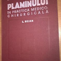 Bazele anatomice ale plaminului in practica medico-chirurgicala - Dr. L. Bejan