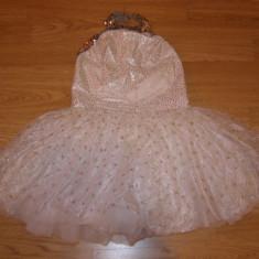 costum carnaval serbare rochie dans balet ingeras stea pentru copii de 7-8 ani