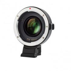 Adaptor montura Viltrox EF-E II 0.71x Auto Focus Booster de la Canon EF/S la Sony NEX E-mount