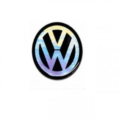 Emblema logo sigla cheie Vw neagra foto