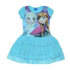Rochie cu imprimeu Frozen Setino FR-G-DRESS-05, Multicolor