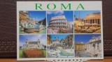 ITALIA - ROMA - 6 FOTOGRAFII PE TIMP DE ZI CU CLADIRI MONUMENT,3 - NECIRCULATA.