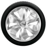 Capace roti model ROCCO, 15 inch, cu inel cromat (LOGO optional)