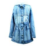 Geaca de blugi pentru fete Happy House PPS-312, Albastru