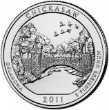SUA - QUARTER CHICKASAW, OKLAHOMA 2011 P - UNC / SERIA PARCURI NATIONALE, America de Nord