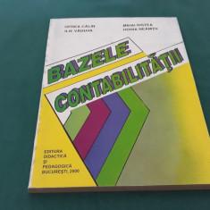 BAZELE CONTABILITĂȚII/OPREA CĂLIN, MIHAI RISTEA, ILIE VĂDUVA/2000