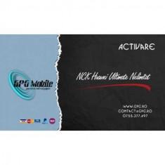 Activare Huawei Ultimate Nelimitat pentru NCK Dongle si UMT Box / Dongle