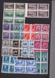 ROMANIA 1938  LP 128  CENTENARUL NASTERII REGELUI CAROL  BLOCURI   4 TIMBRE  MNH, Nestampilat