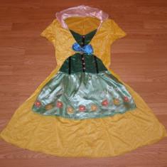 costum carnaval serbare alice clovnita chelnerita pentru copii de 10-11-12 ani