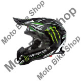 MBS Casca motocross Airoh Terminator Monster, carbon, negru/verde , XXL, Cod Produs: TM17XL