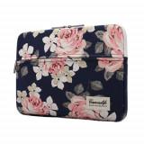 Cumpara ieftin Husa Upzz Tech Canvaslife Sleeve Compatibila Cu Laptop / Macbook 13-14 Inch Navy Roz
