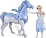 Set Frozen 2 cu papusa Elsa si Nokk Spiritul Mitic, Hasbro