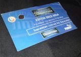 Acreditare Parking Steaua Dinamo 27.3.2014 Cupa Romaniei bilet Fotbal Romania