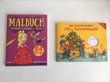 lot 2 carticele de colorat pt copii, limba germana