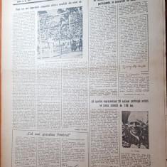 sportul popular 11 august 1953-cursa ciclista de 100km,turneul de fotbal,inot