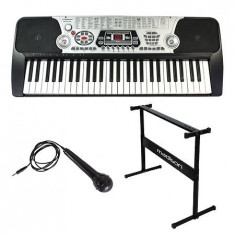 Orga electrica 54 clape cu usb + stand + microfon