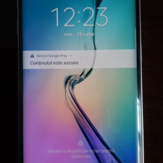 Samsug Galaxy S6 Edge, Negru, Neblocat
