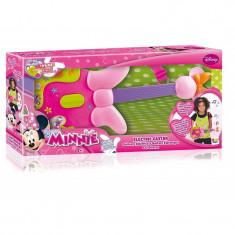 Chitara electonica Minnie, 3 x AA, 45.6 x 23.4 cm, 3 ani+, Multicolor