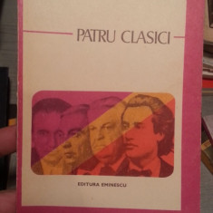 Patru clasici – Perpessicius