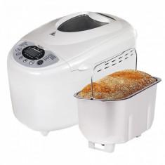 Masina de facut paine cu functie de pornire intarziata, 2 PALETE, ZEPHYR ZP 1446 A, 850 W, 1250 gr, 12 programe, Timer, Paine fara Gluten
