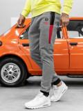 Cumpara ieftin Pantaloni de trening bărbați gri Bolf AM69