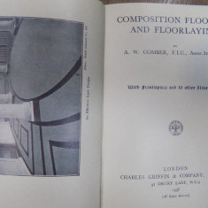 Composition flooring and floorlaying, London 1936