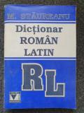 DICTIONAR ROMAN - LATIN - Staureanu