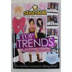 STARDOLL - FAME , FASHION AND FRIENDS - TOP FRIENDS - AUTUMN - WINTER , 2011 - 2012