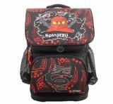 LEGO Ninjago, Ghiozdan scoala Optimo cu geanta sport Team Ninja