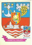 TSV* - MAXIMA GALATI - STEMA JUDETULUI HERALDICA `78